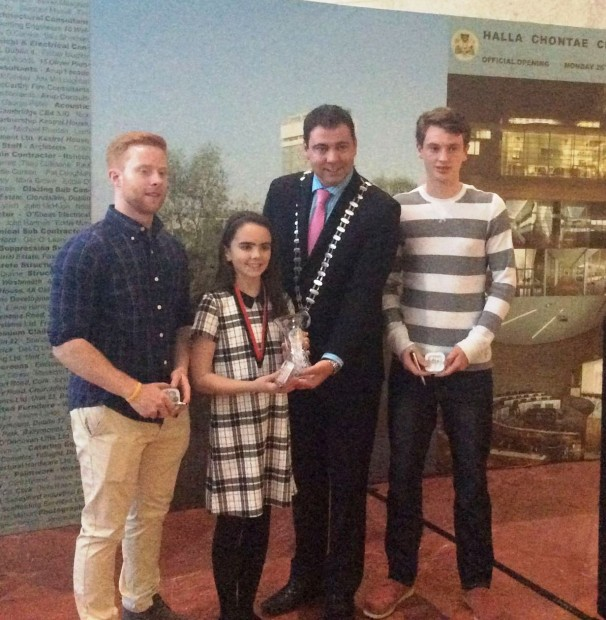 Members of the Mallow Handball Club were honoured by the County Mayor John Paul O' Shea for their fantastic haul of 9 medals (5 gold & 4 silver) at the recent World Handball Championships in Calgary, Canada.