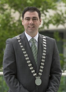 Independent Cllr and current Mayor of Cork County John Paul O'Shea, who has announced that he will run as a candidate for the Dáil in Cork North West. Pic. Martin Walsh.