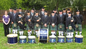 Cullen Pipe Band who were funded as part of Cork County Council's 2015. Arts Grant Scheme 2015.