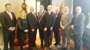 The Cork County Council Delegation led by the Mayor of County Cork Cllr. John Paul O' Shea also met with the Boston Irish Business Assocation during their recent delegation.