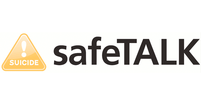 Upcoming Suicide Awareness Training – safeTALK