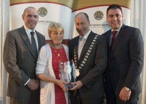 Margaret O' Callaghan from Charleville who the overall Individual Mayor's Community Award in 2015.