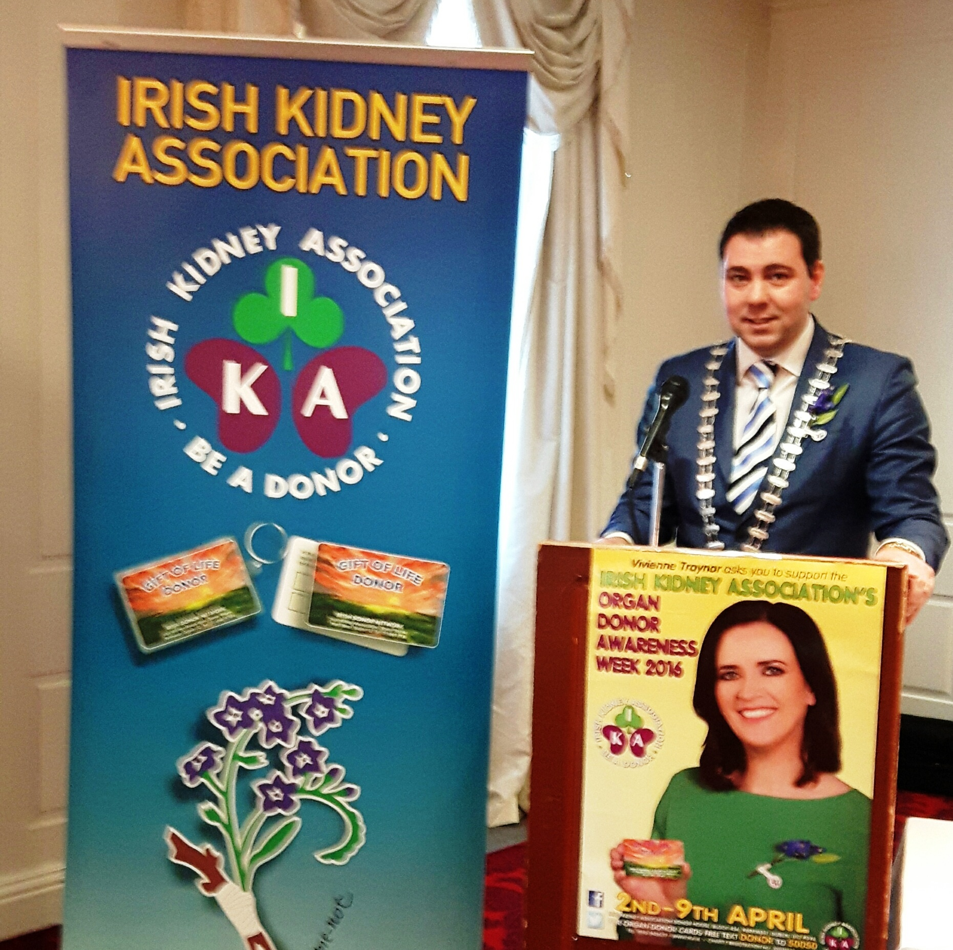 County Mayor Urges People of Cork To Support Organ Donation Awareness Week