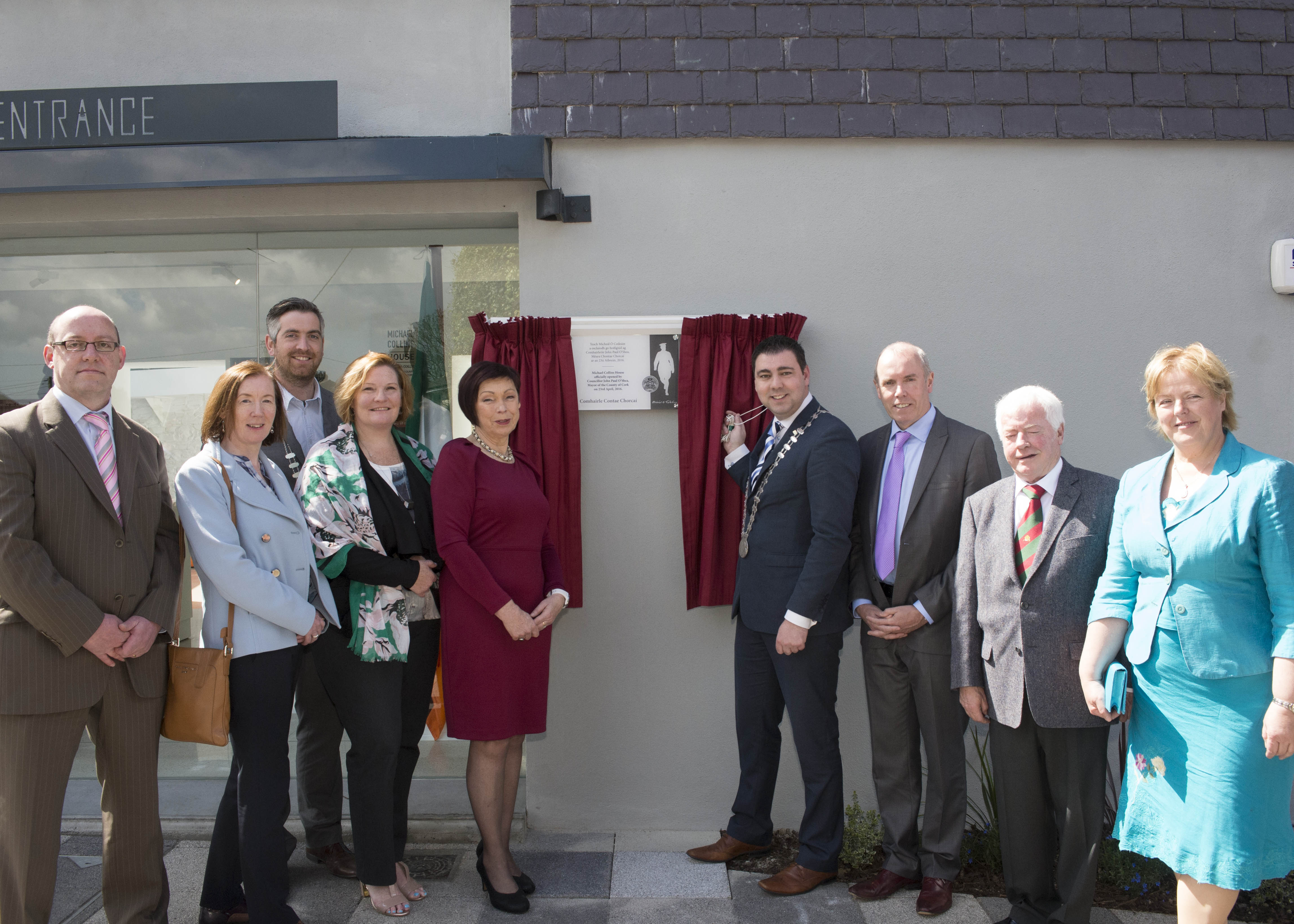 Mayor of County of Cork Opens Michael Collins House Museum in Clonakilty