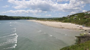 The beautiful Inchadoney beach which maintained its Blue Flag status for the coming year.