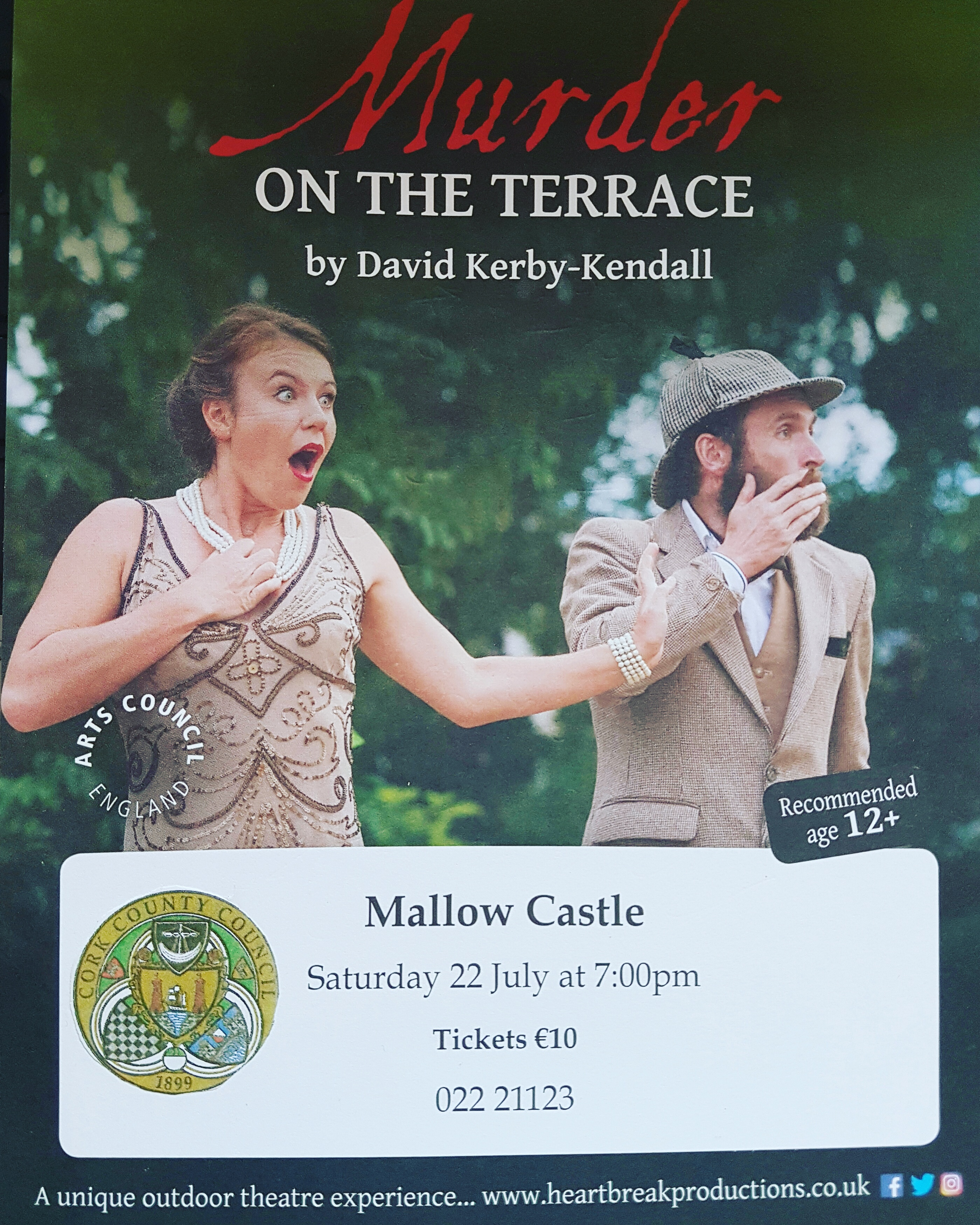 Murder on the Terrace – Interactive Play on grounds of Mallow Castle