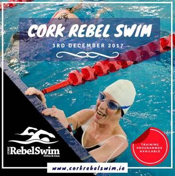 Cork Rebel Swim to take place at Mallow Swimming Pool – Sunday 3rd December