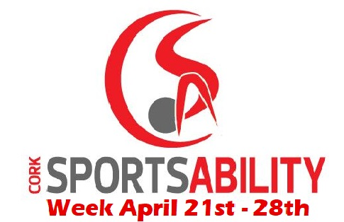 Cork SportsAbility Week April 21st – 28th 2018