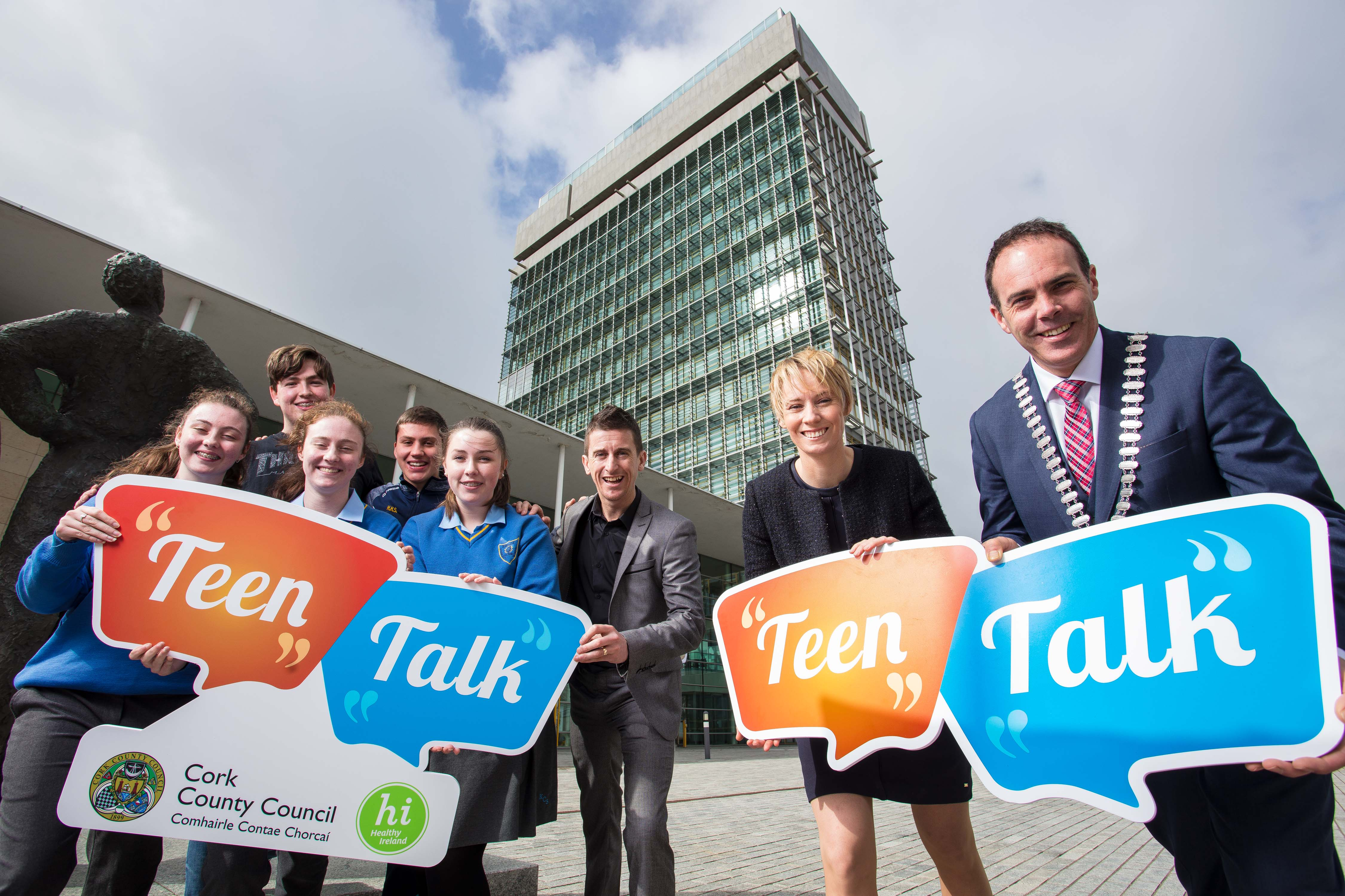 Teen Talk to get TY students talking about Health & Mental Wellbeing