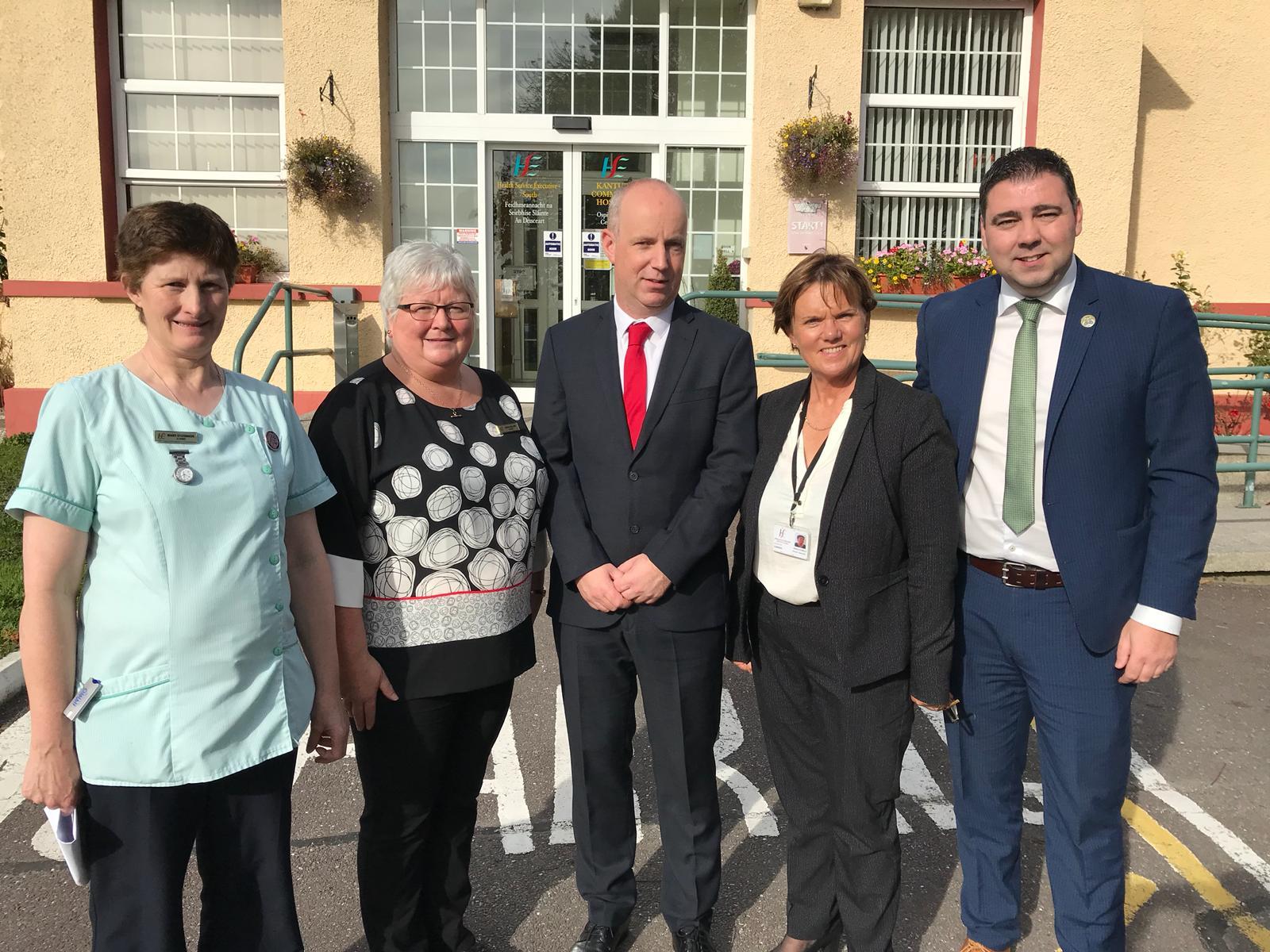 Minister Daly Visits Millstreet & Kanturk Community Hospitals