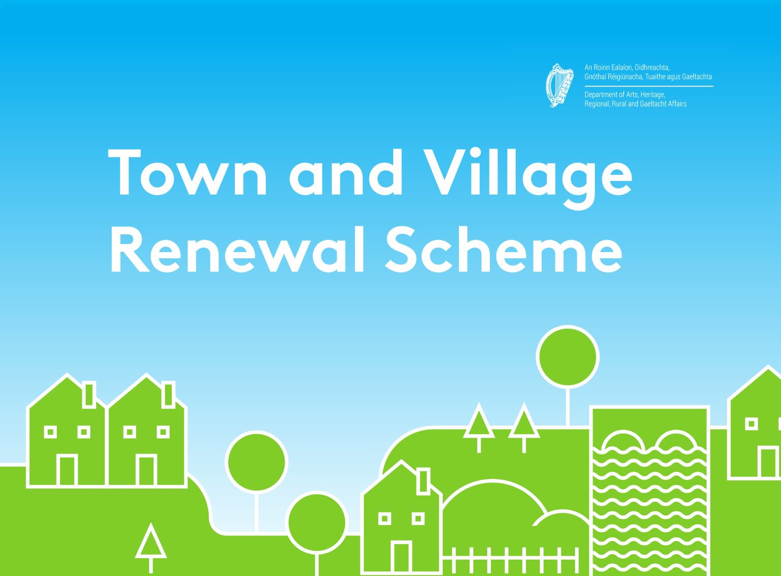 Charleville Town Park to Benefit from 2018 Town & Village Renewal Scheme