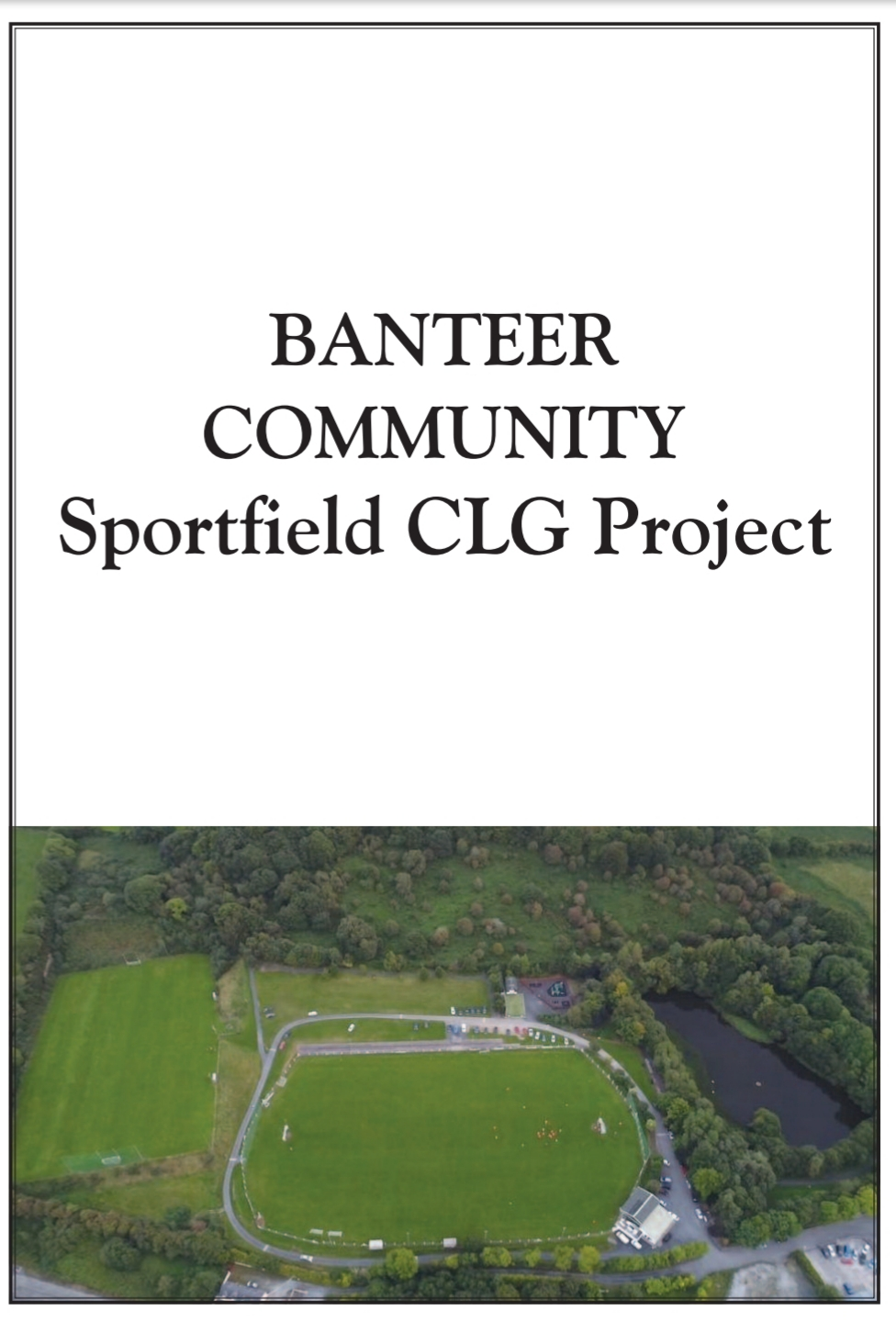 O'Shea confirms €1.1m in funding for New Astroturf and Associated Facilities at Banteer Community Sportsfield