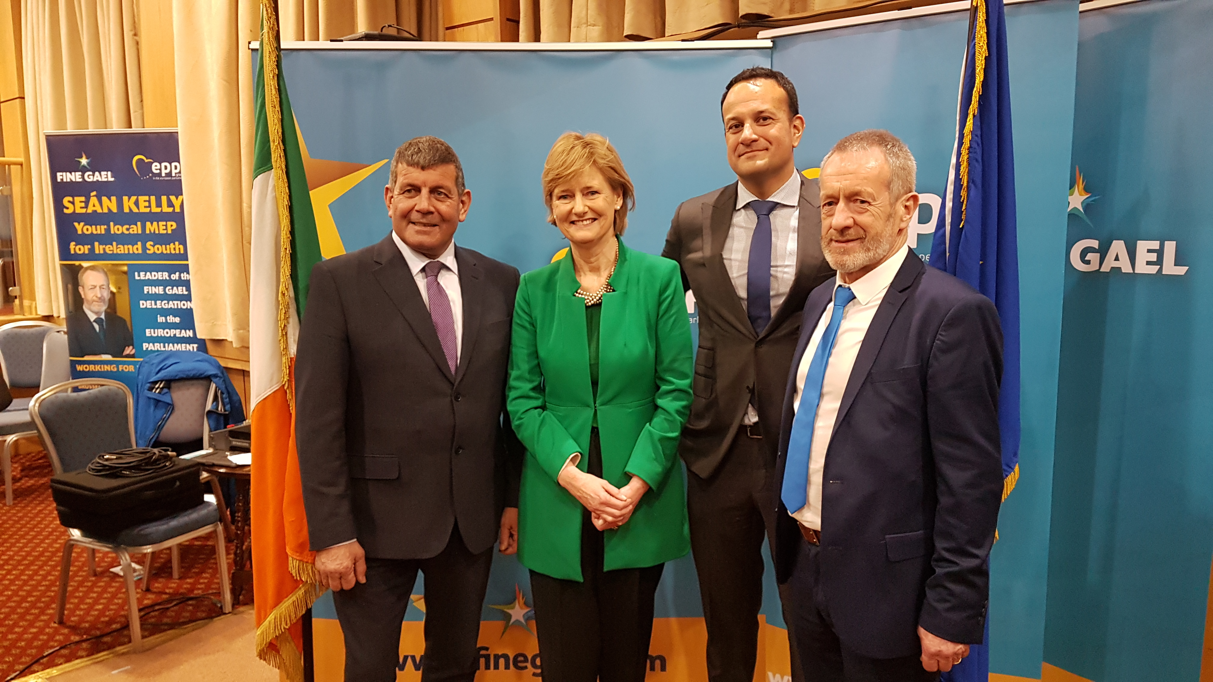 Clune, Kelly and Doyle to contest the European Parliament election in the Ireland South constituency for Fine Gael