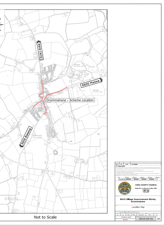 Proposal for Village Improvement Scheme in Dromahane welcome – O'Shea