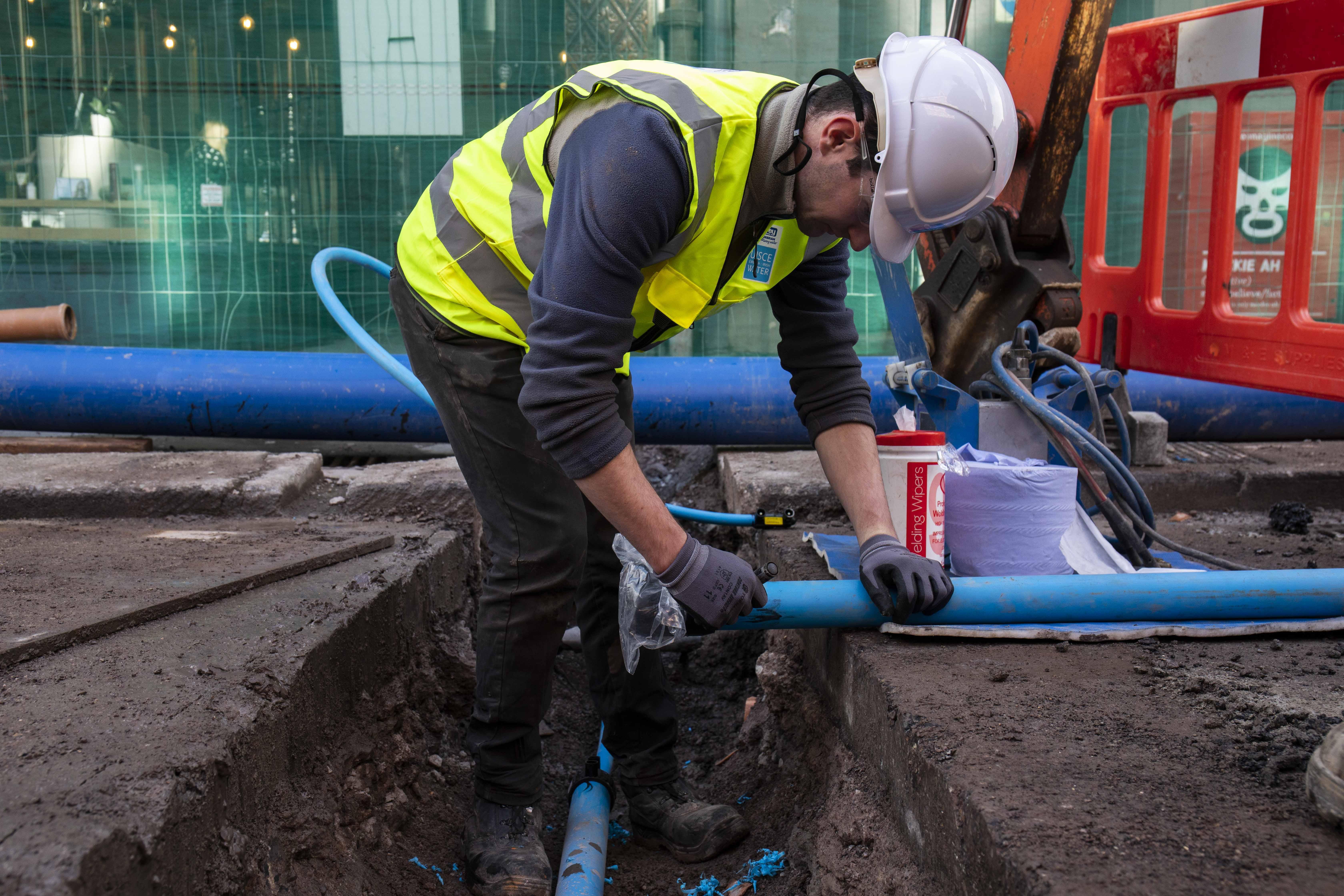 Irish Water works, Mccurtain street cork, Cork City.