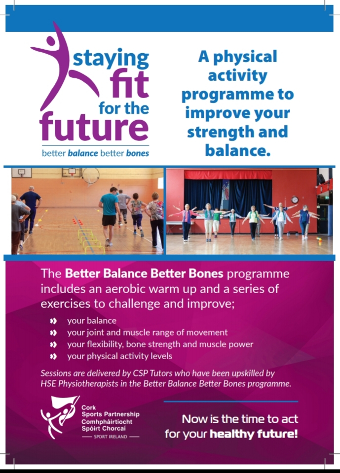 Staying Fit for the Future with Better Balance Better Bones programme