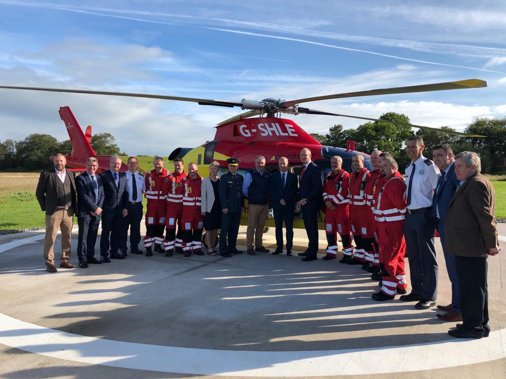 New Aeromedical Service Officially Launched in Rathcoole – O'Shea