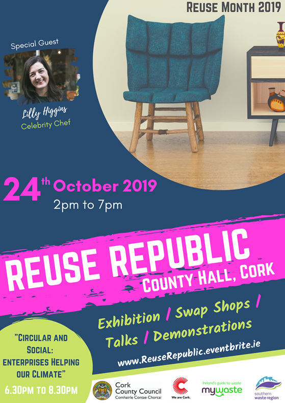 Reuse Republic Event Invite – Thursday 24th October – County Hall