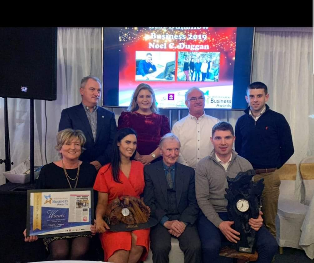 O'Shea Congratulates Winners fromIRDDuhallowBusiness Awards