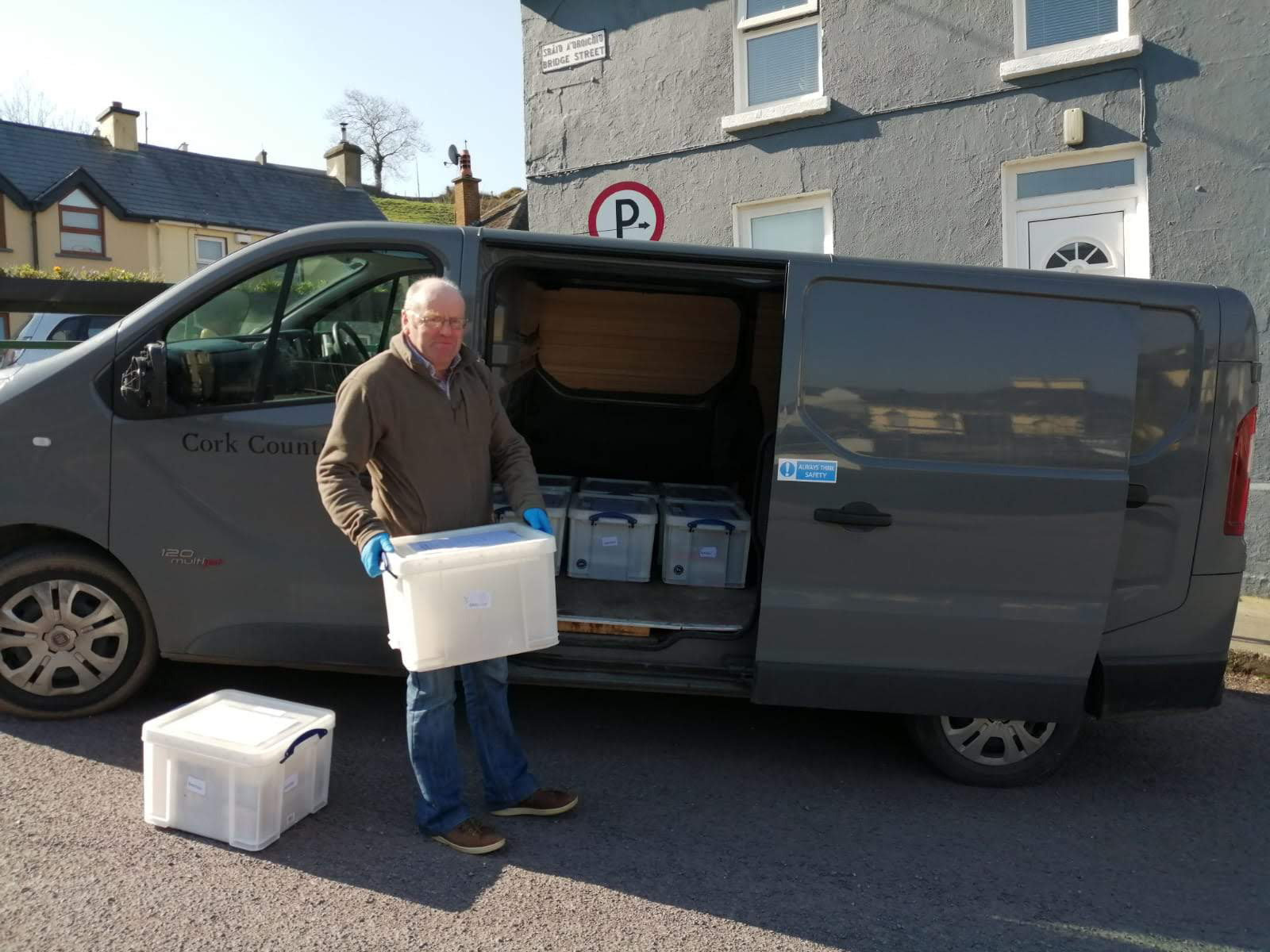 Doorstep Deliveries Courtesy of Cork County Council's Library Service