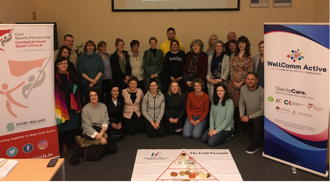WellComm Active Initiative Launched in Cork