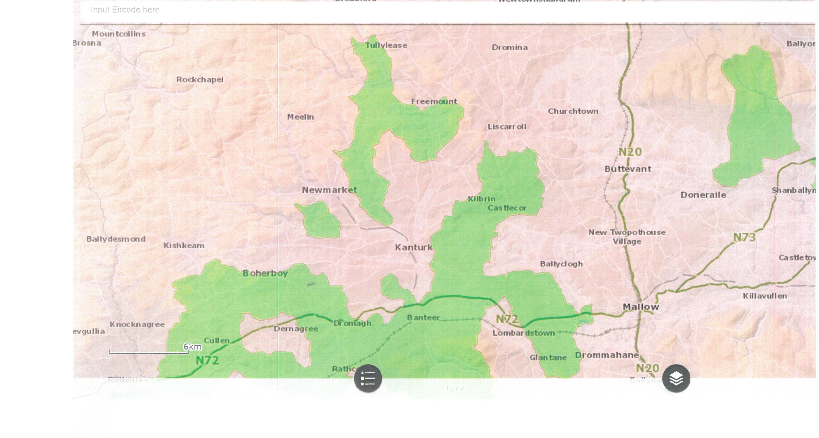 High Status Objective Catchment Map 2