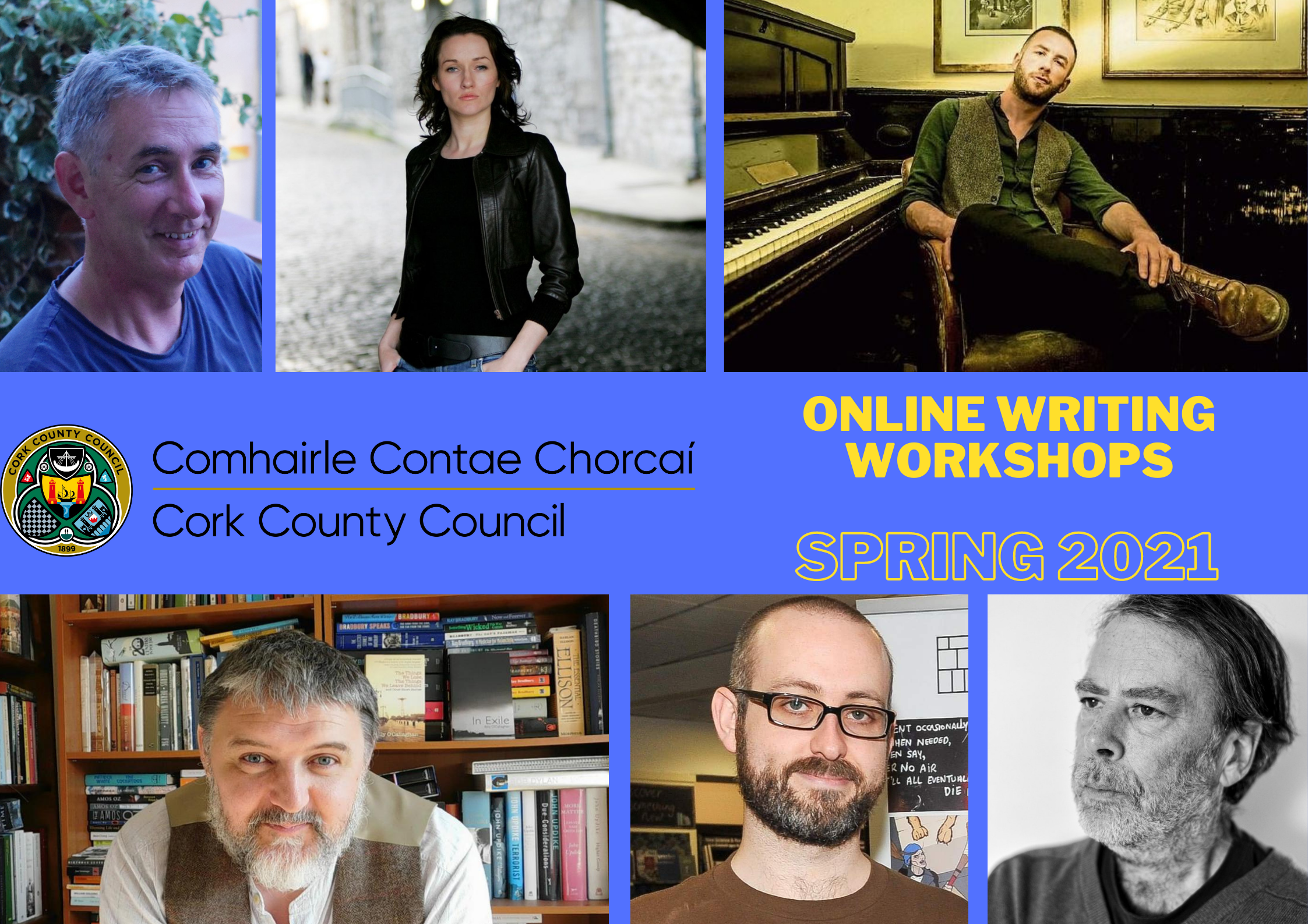 Cork County Council Launch Spring Series of Online Writing Workshops