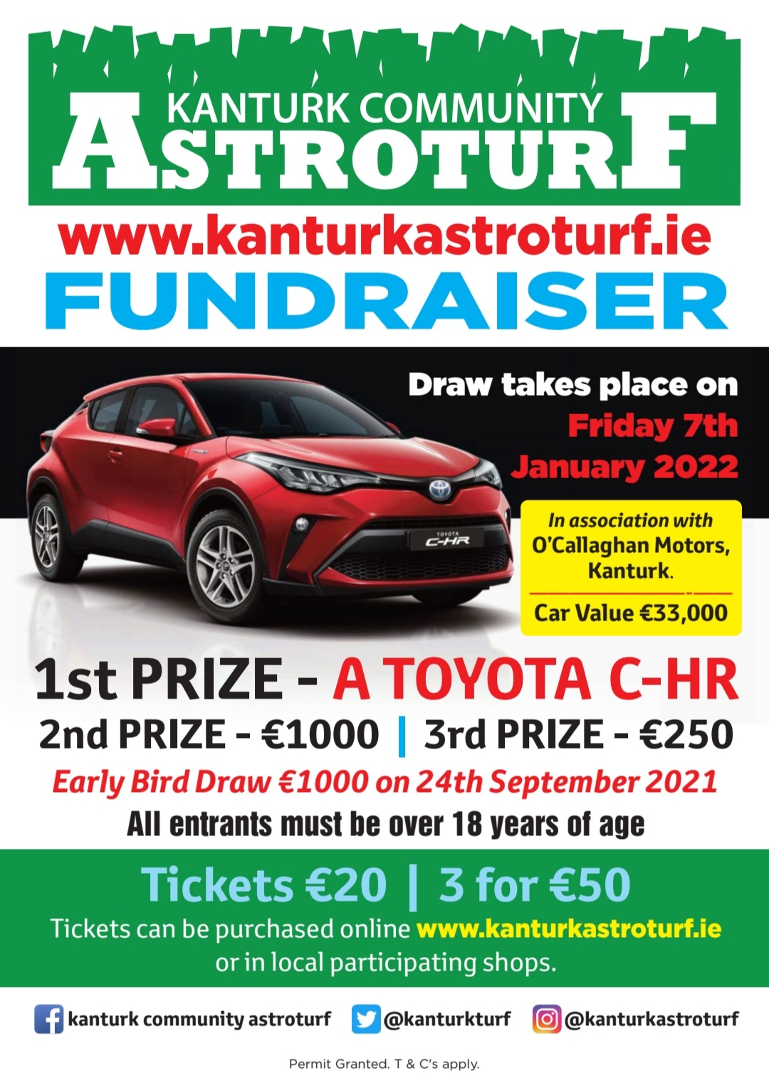 Fundraiser Launched to Deliver New Astroturf for Kanturk